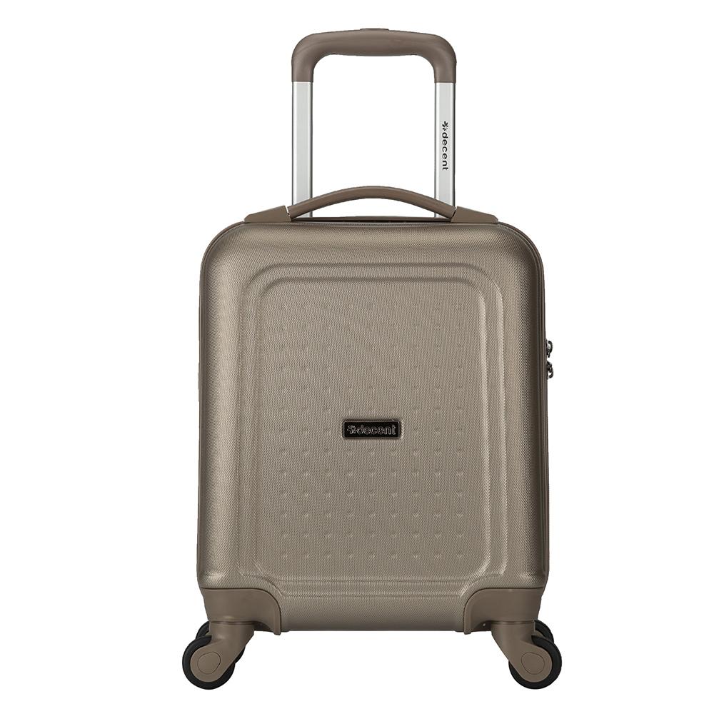 Harde Koffers Decent Decent Maxi Air Handbagage Trolley 42 cm Champagne