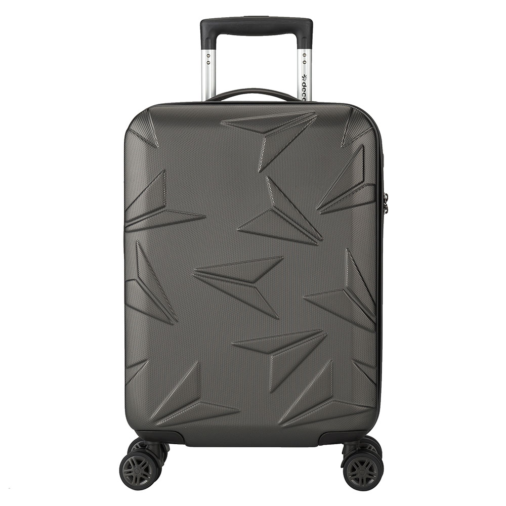 Decent Q-Luxx Cabin Trolley 55 Anthracite