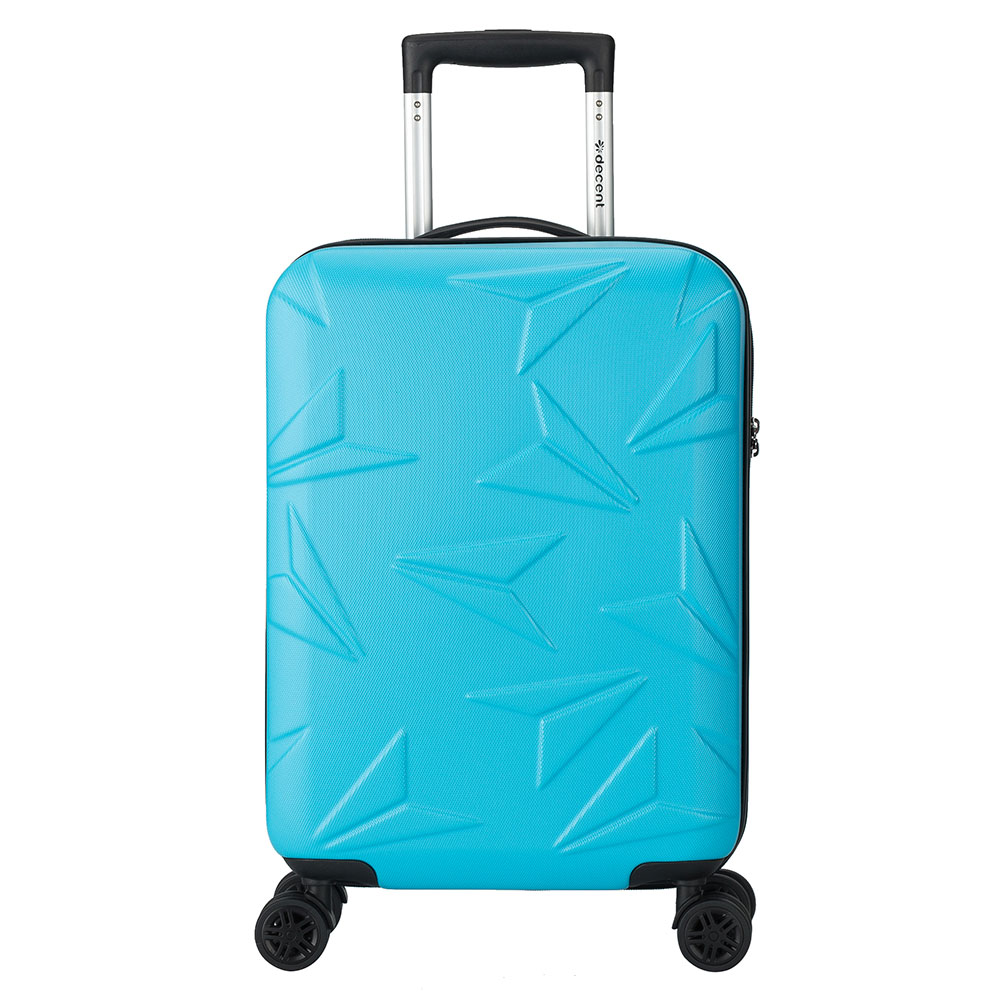 Harde Koffers Decent Q Luxx Cabin Trolley 55 Blue