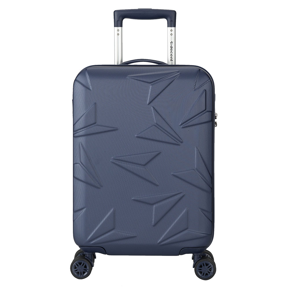 Decent Q Luxx Cabin Trolley 55 Dark Blue Decent Beste koop