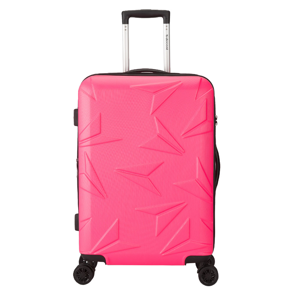Decent Q-Luxx Trolley 67 Expandable Pink