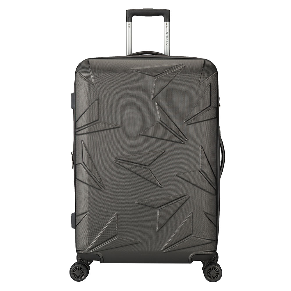 Harde Koffers Decent Decent Q Luxx Trolley 77 Expandable Anthracite