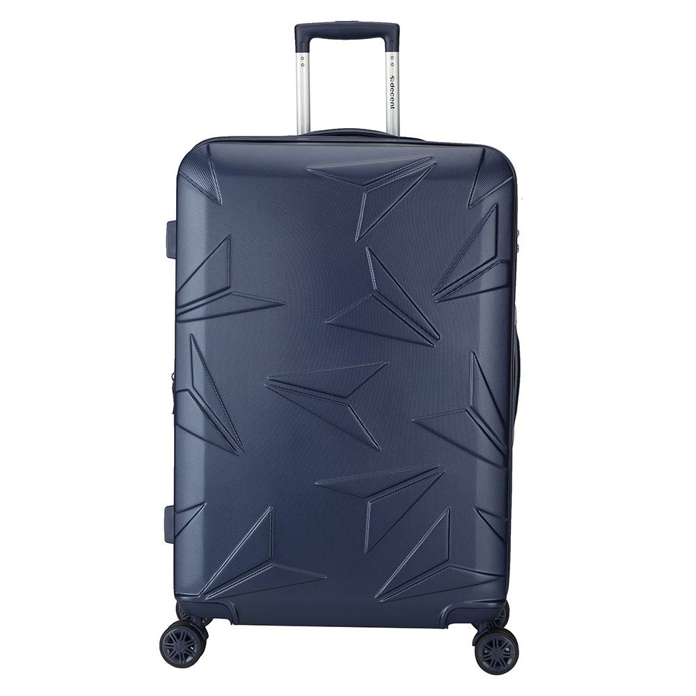 Harde Koffers Decent Q Luxx Trolley 77 Expandable Dark Blue