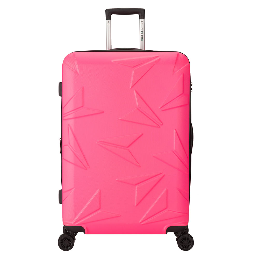 Decent Q-Luxx Trolley 77 Expandable Pink