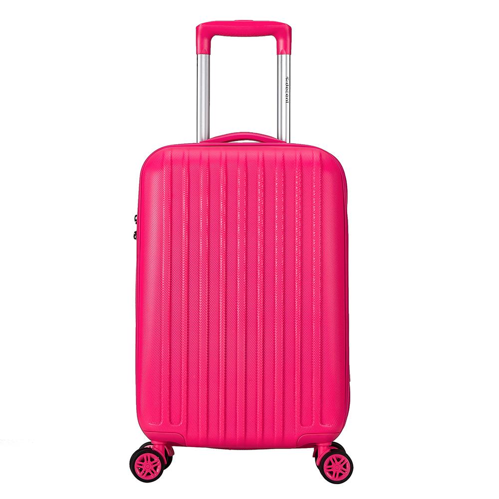 Decent Tranporto-One Handbagage Trolley 55 Pink