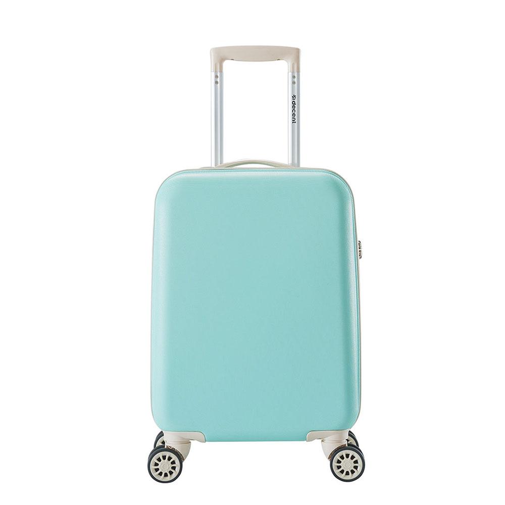 Decent Star Maxx Handbagage Koffer 55 Pastel Groen