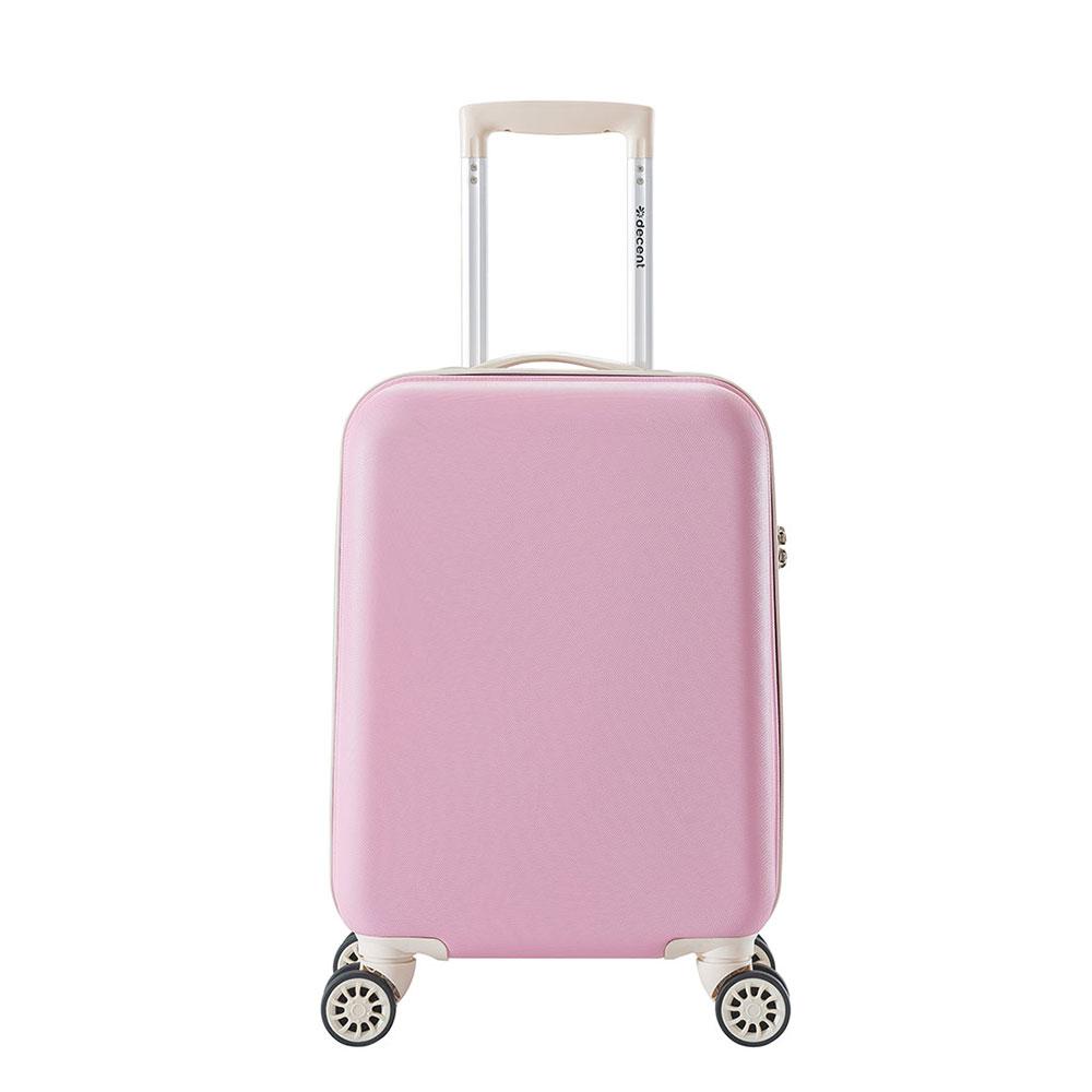 Decent Star Maxx Handbagage Koffer 55 Pastel Roze