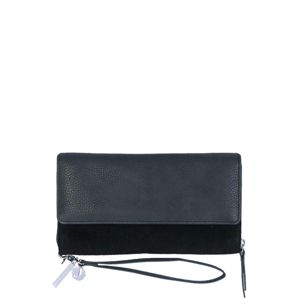LouLou Essentiels Robuste Mobile Bag Portemonnee Black