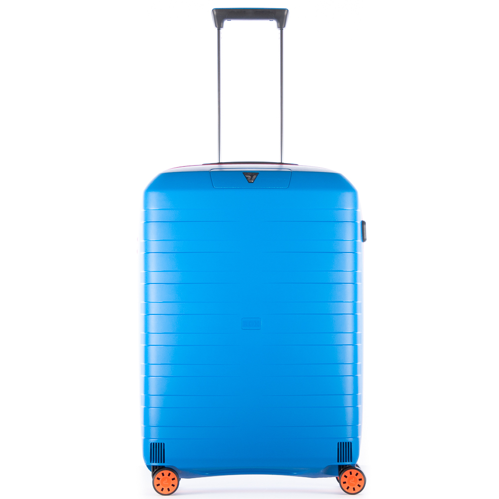 Roncato Box 2.0 Young 4 Wiel Trolley Medium 69 Orange - Electric Blue