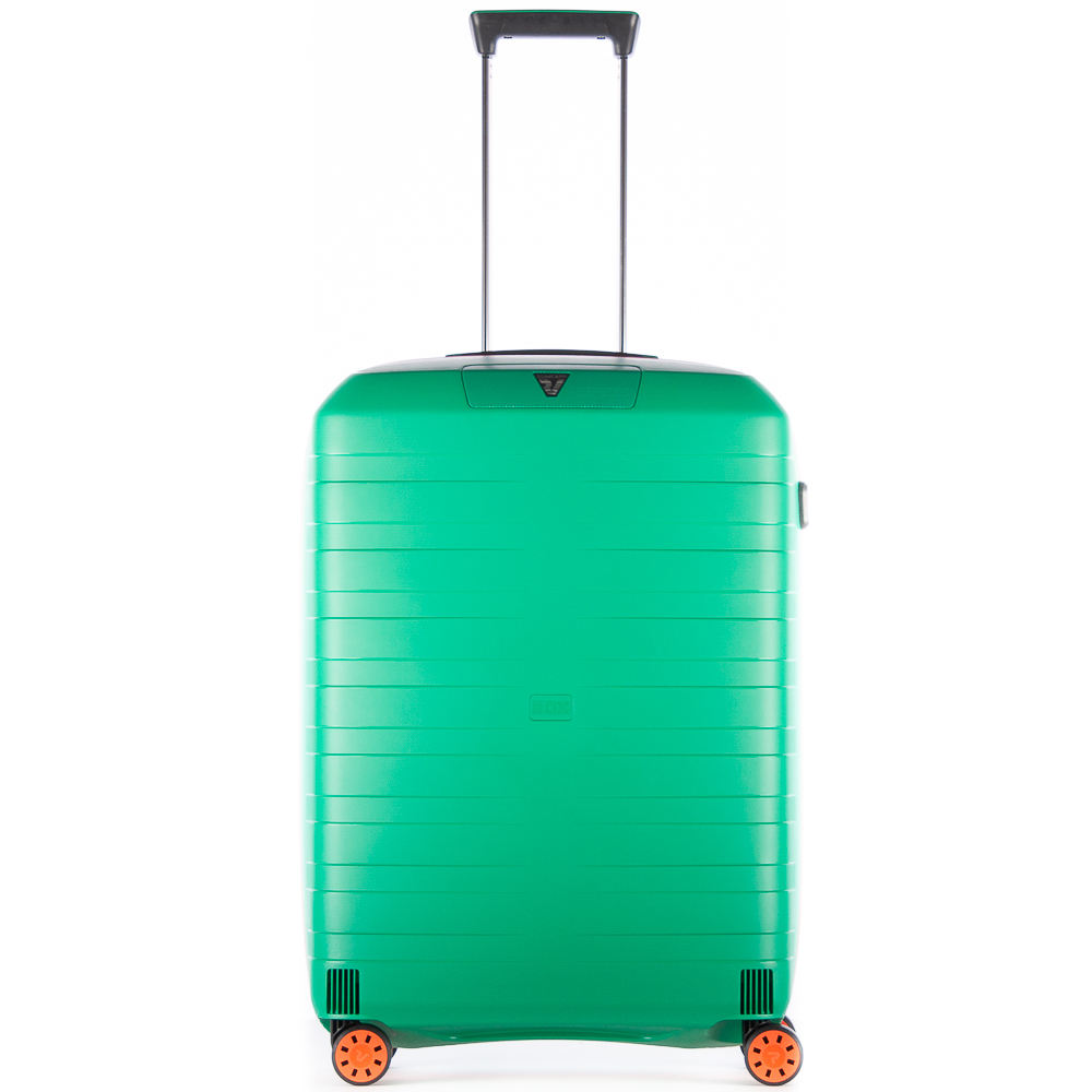 Roncato Box 2.0 Young 4 Wiel Trolley Medium 69 Green - Orange