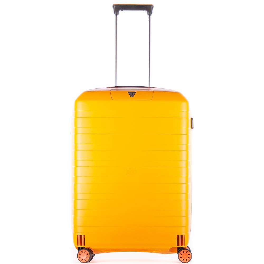Roncato Box 2.0 Young 4 Wiel Trolley Medium 69 Yellow - Orange