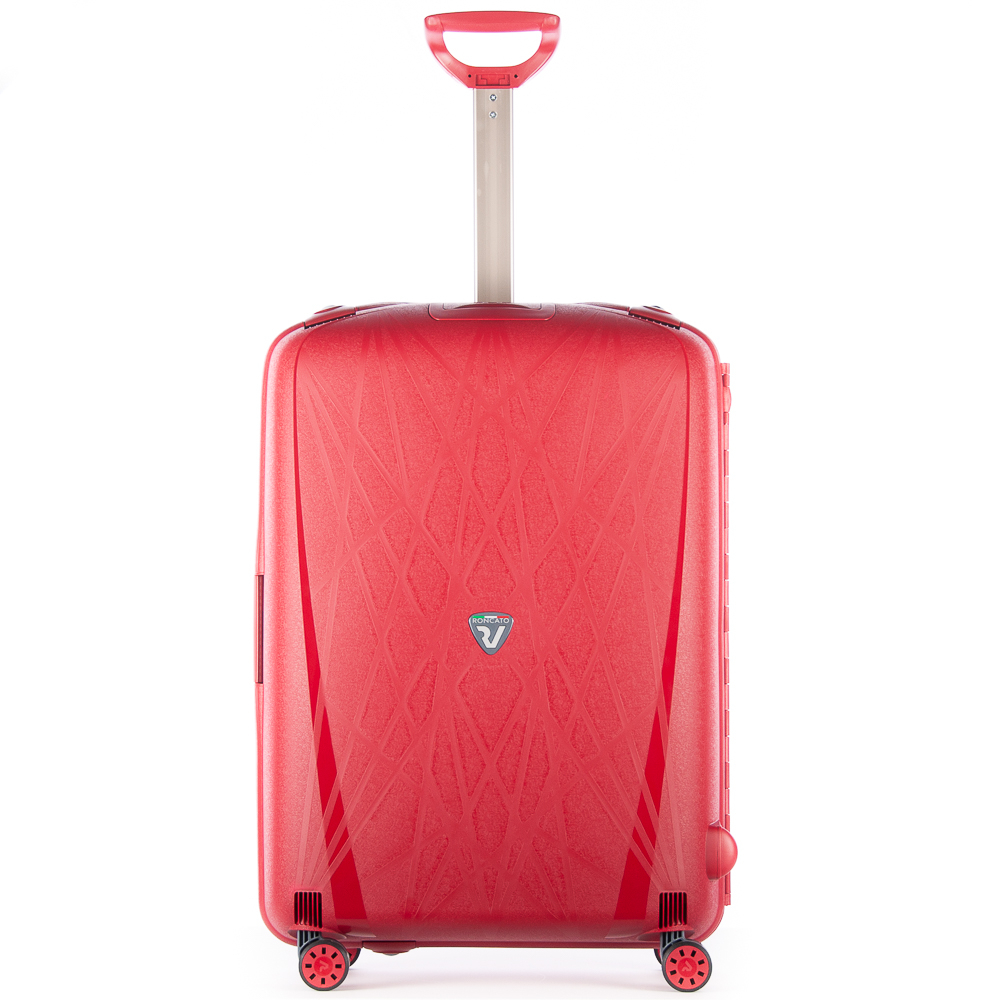 Roncato Light 4 Wiel Trolley 75 Red