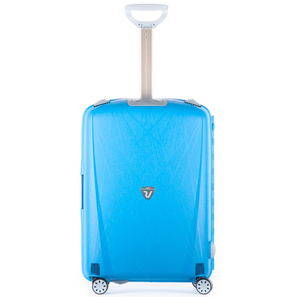 Roncato Light 4 Wiel Trolley 68 Ciano Blue