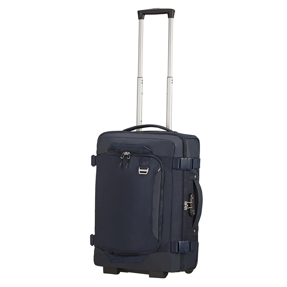 Samsonite Midtown Duffle Wheels 55 Backpack Dark Blue