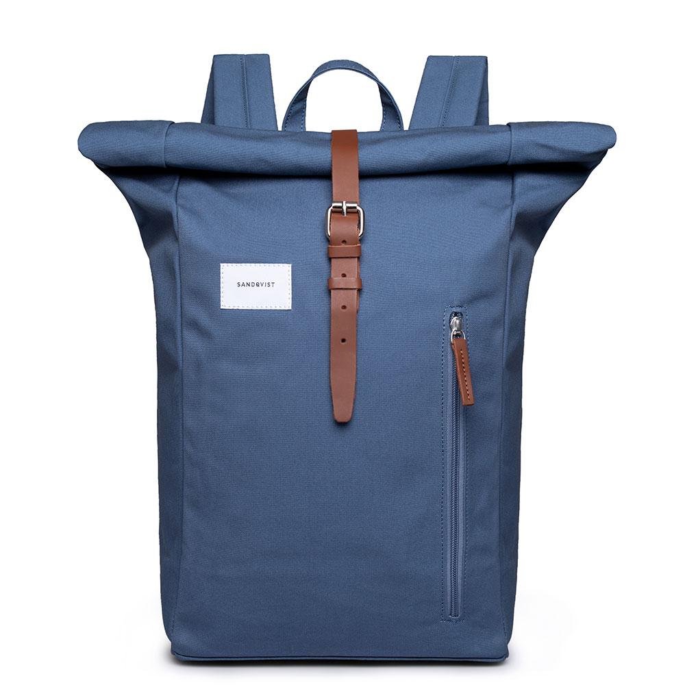 Sandqvist-Rugzakken-Backpack Dante-Blauw