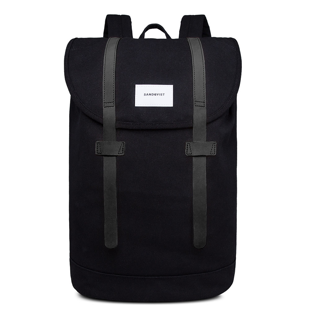 Sandqvist Stig Large Backpack Black/Black