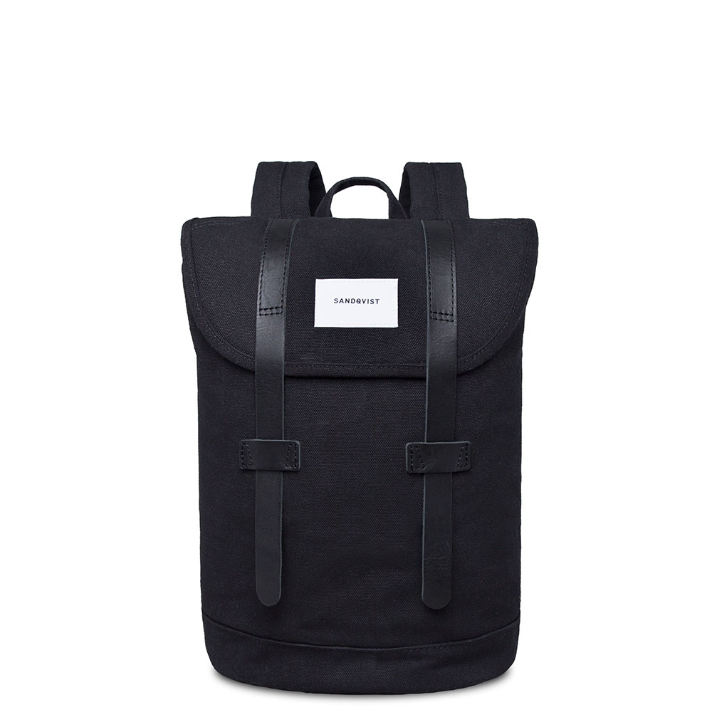Sandqvist Stig Small Backpack Black/Black