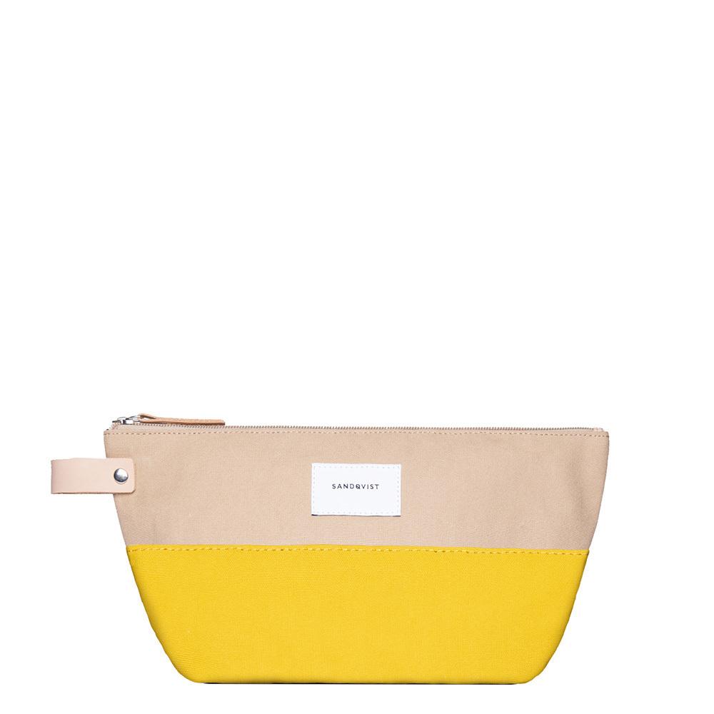 Sandqvist Cleo Multi Bag Yellow/Beige