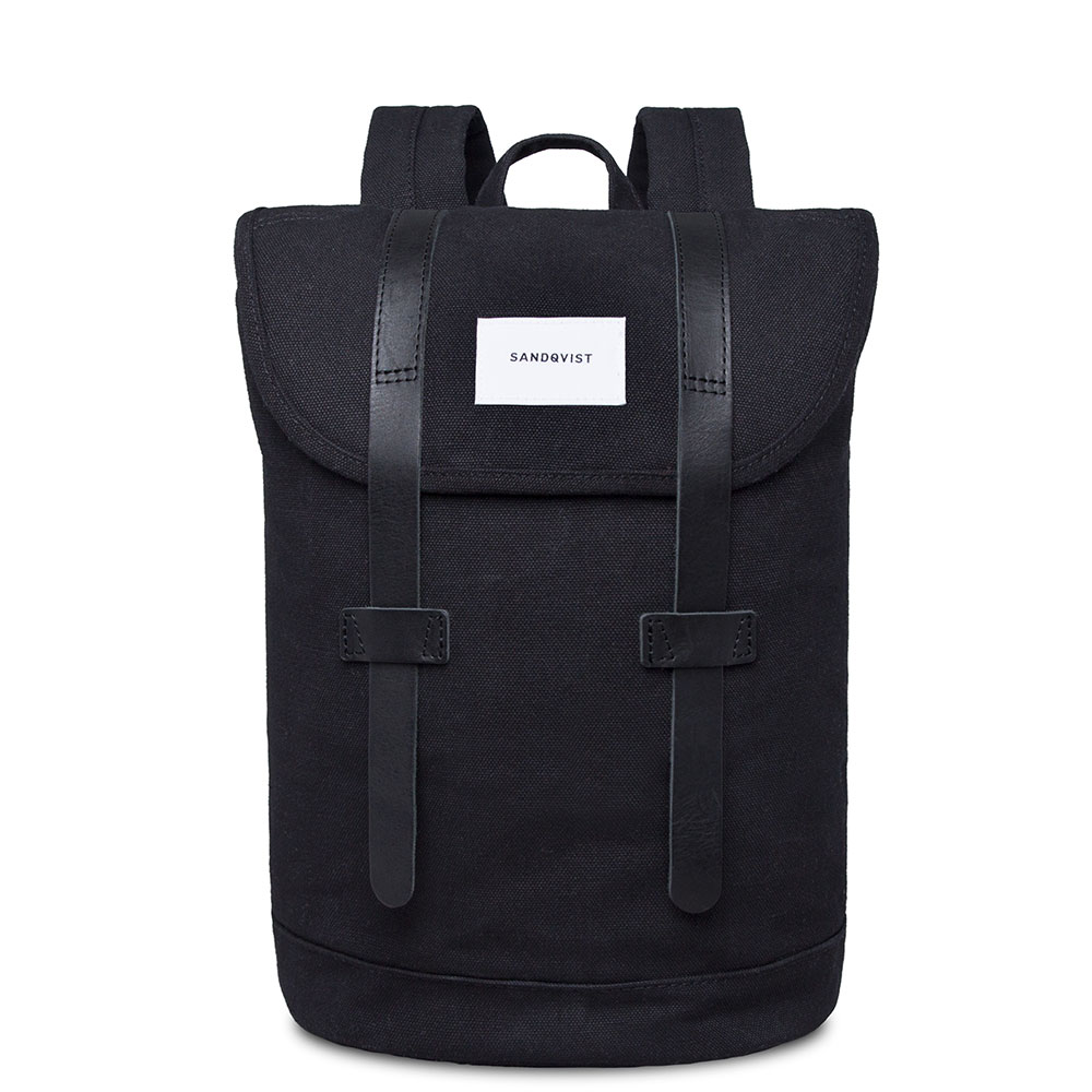 Sandqvist Stig Backpack Black/Black