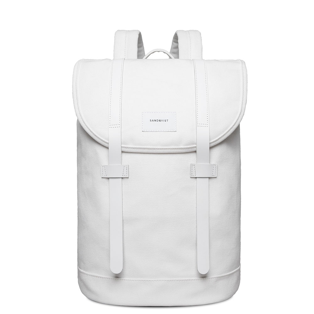 Sandqvist Stig Backpack Off White/White