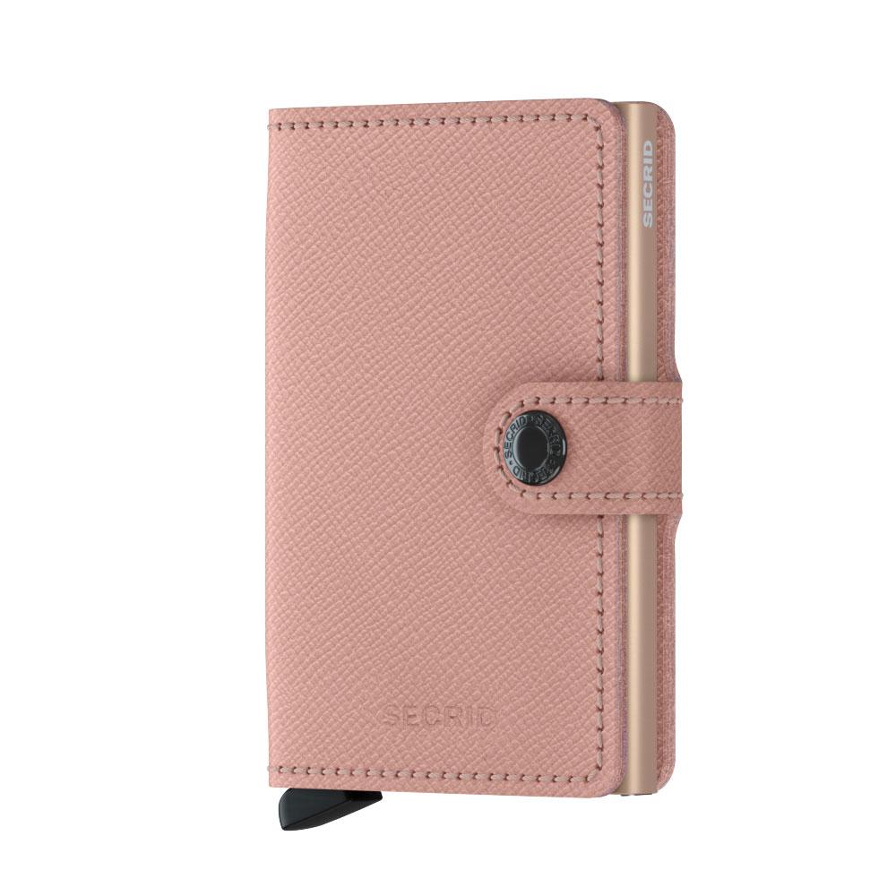 Secrid Mini Wallet Portemonnee Crisple Rose