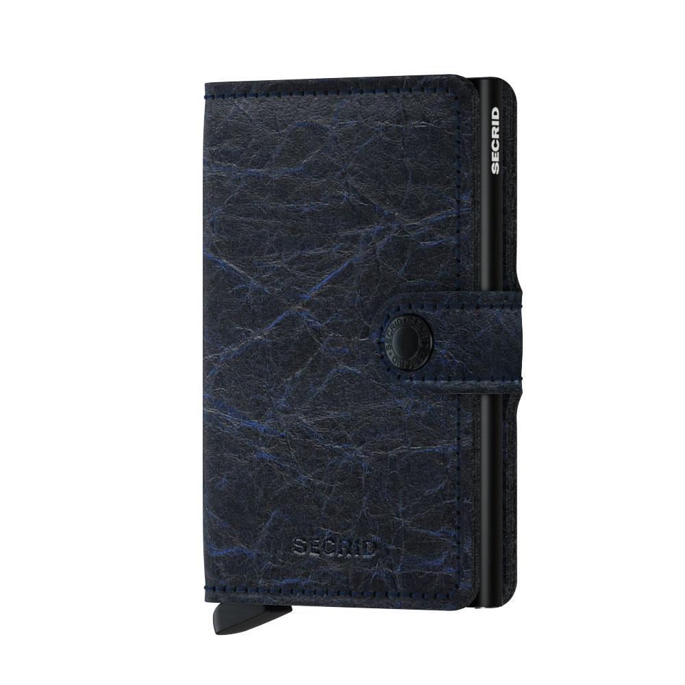 Secrid Mini Wallet Portemonnee Crunch Blue