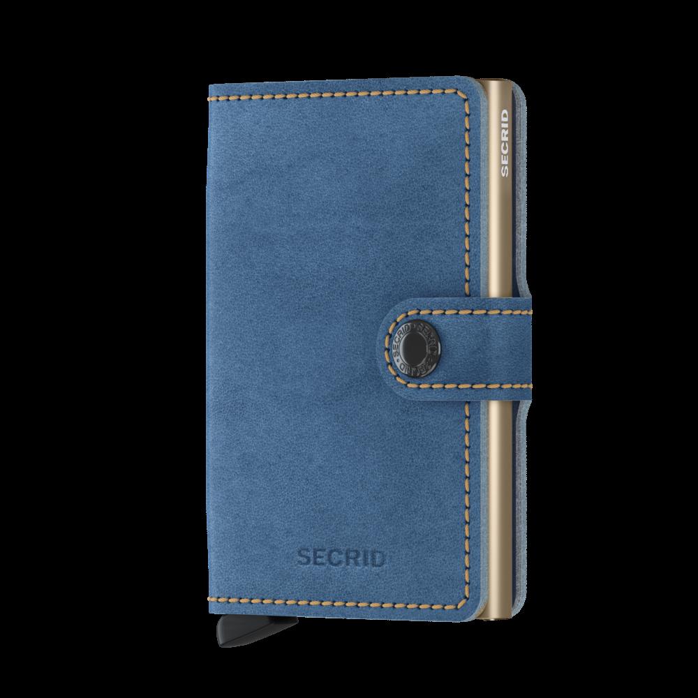 Secrid Mini Wallet Portemonnee Indigo 3 - Sand