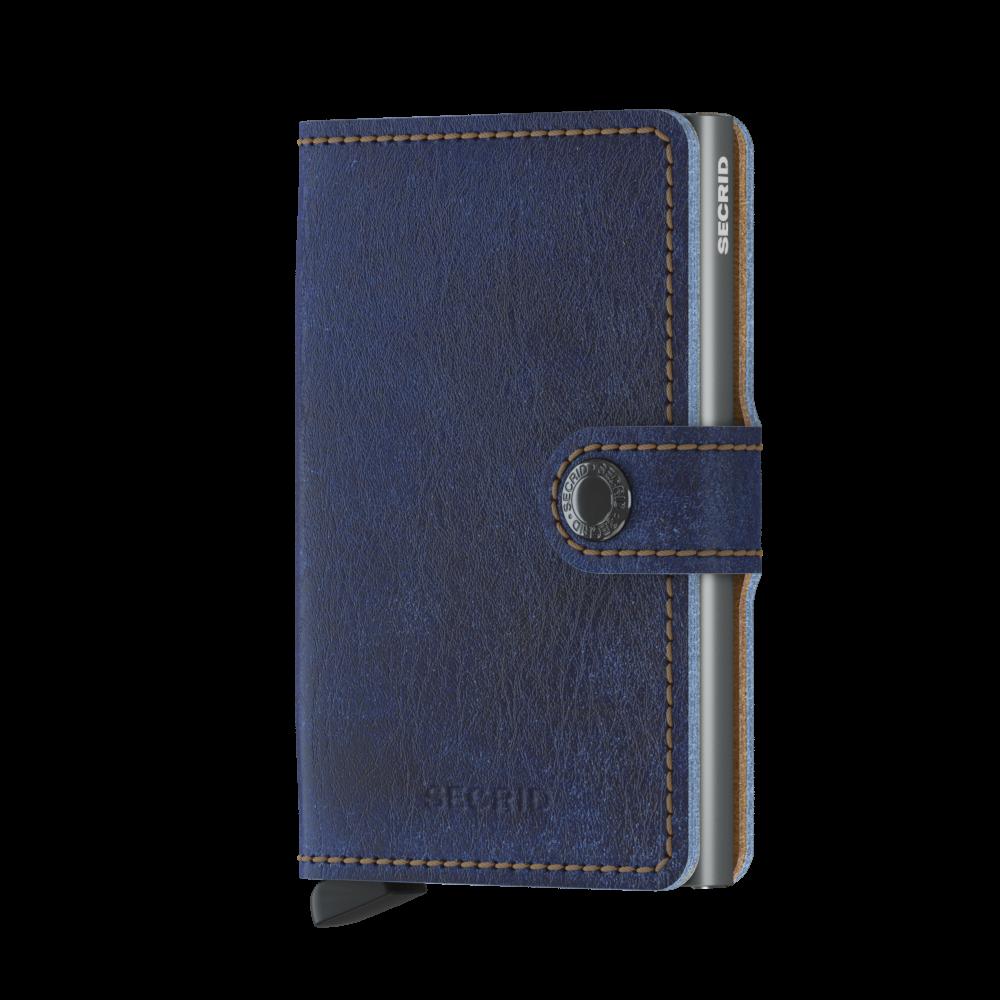 Secrid Mini Wallet Portemonnee Indigo 5 - Titanium