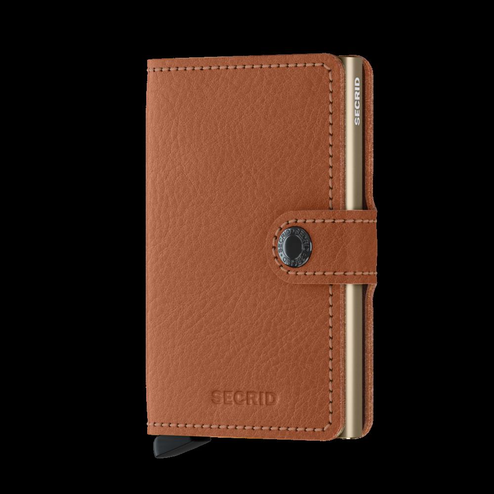 Secrid Mini Wallet Portemonnee Veg Caramello Sand