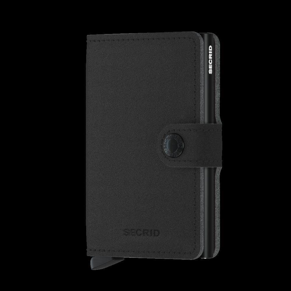 Secrid Mini Wallet Portemonnee Yard Black