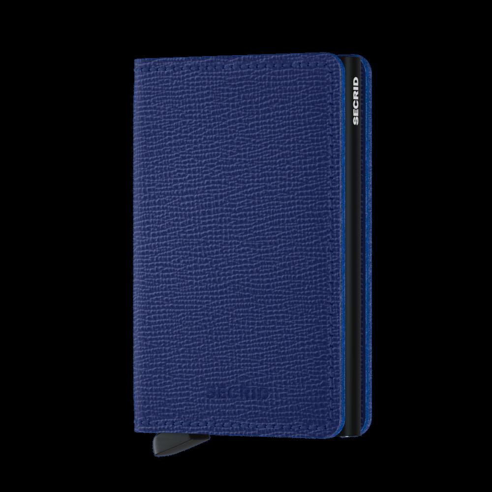 Secrid Slim Wallet Portemonnee Crisple Blue