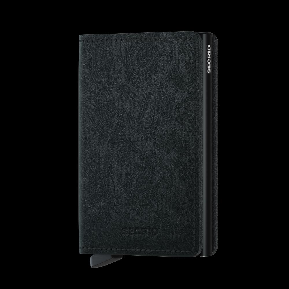 Secrid Slim Wallet Portemonnee Paisley Black
