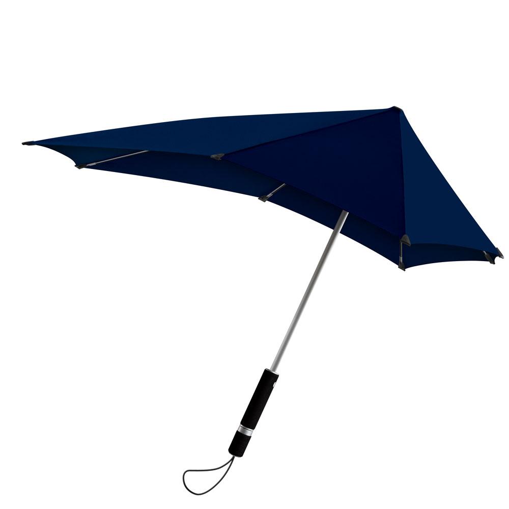 Lange stormvaste paraplu
