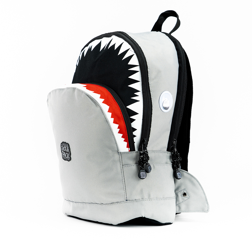 Pick & Pack Fun Rugzak M Shape Shark Grey