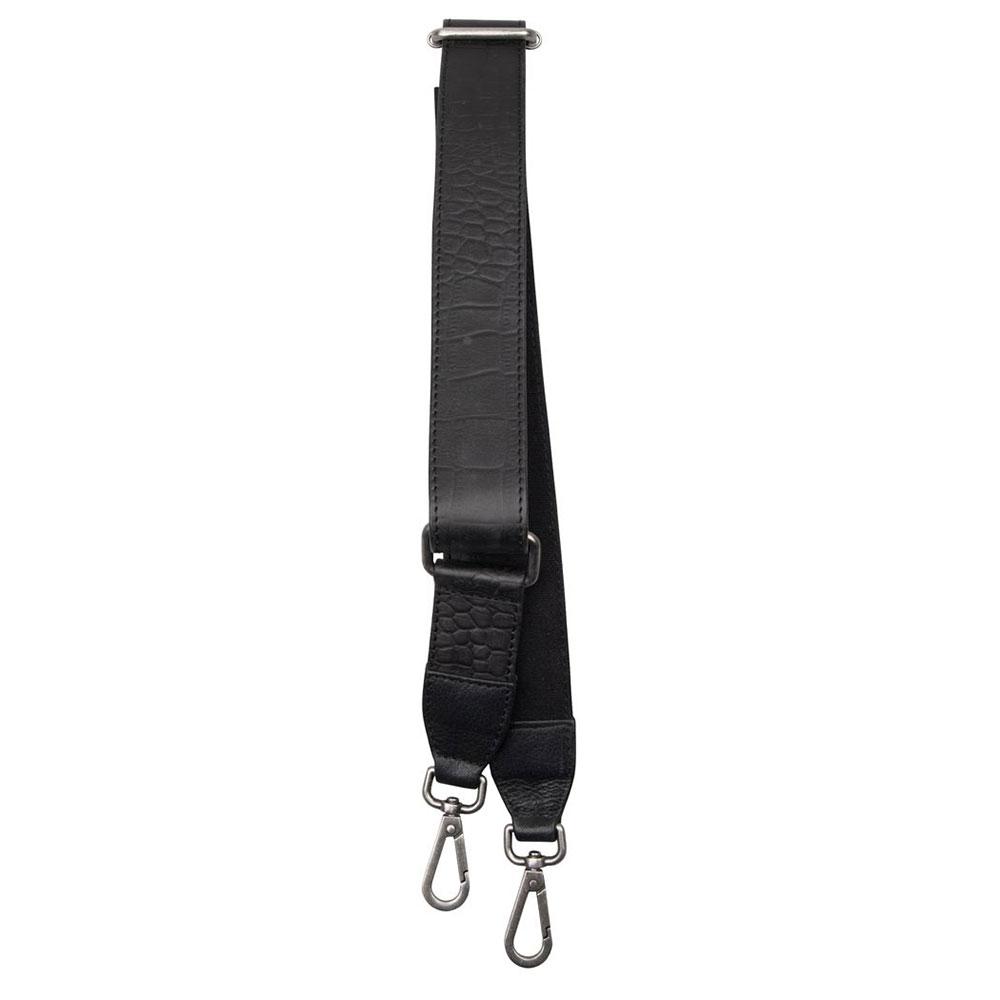 Cowboysbag X Bobbie Bodt Shoulder Strap Emerald Long Croco Black
