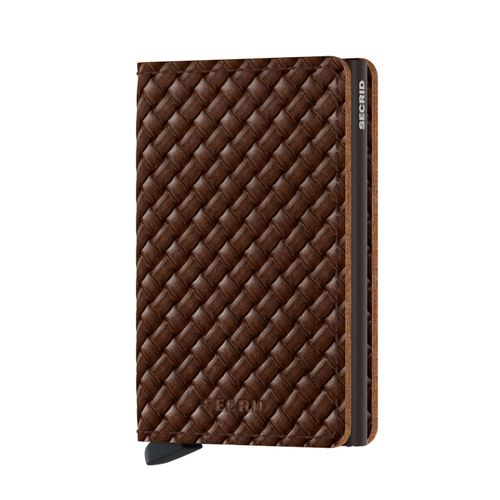 Secrid Slim Wallet Portemonnee Basket Brown
