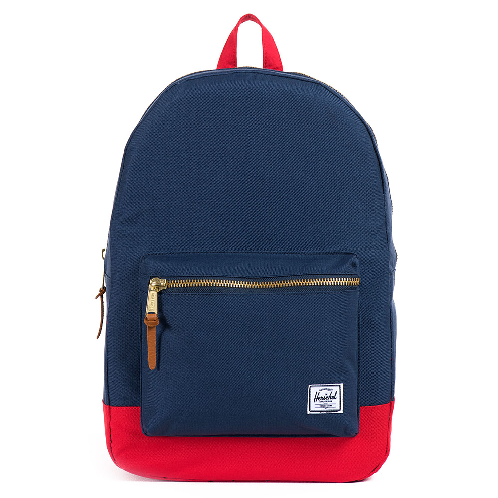 Herschel Settlement Rugzak Navy/Red