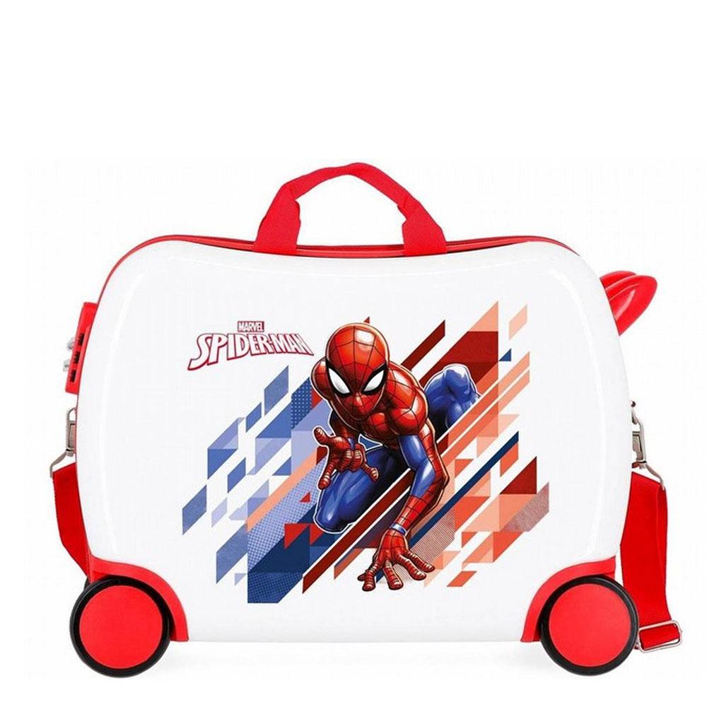 Disney Rolling Suitcase 4 Wheels Spiderman