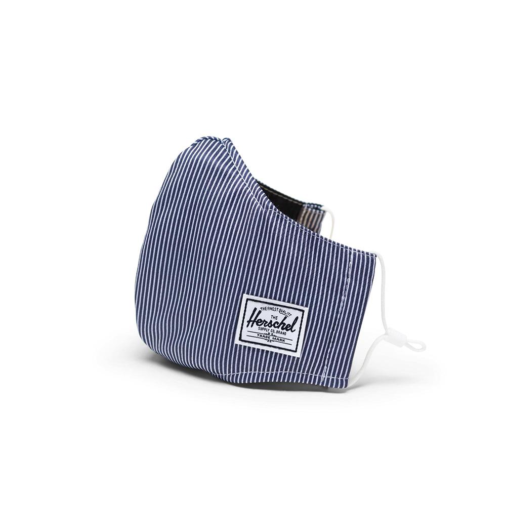 Herschel Classic Fitted Facemask Mondkapje Peacoat Stripe