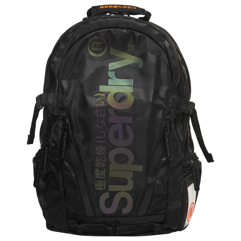Superdry Tarp Backpack Camo Reflective Black