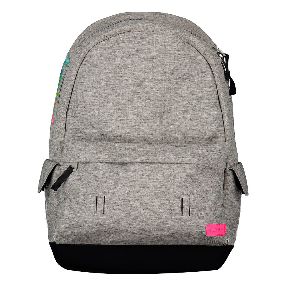 Superdry Montana Rainbow Applique Backpack Light Grey