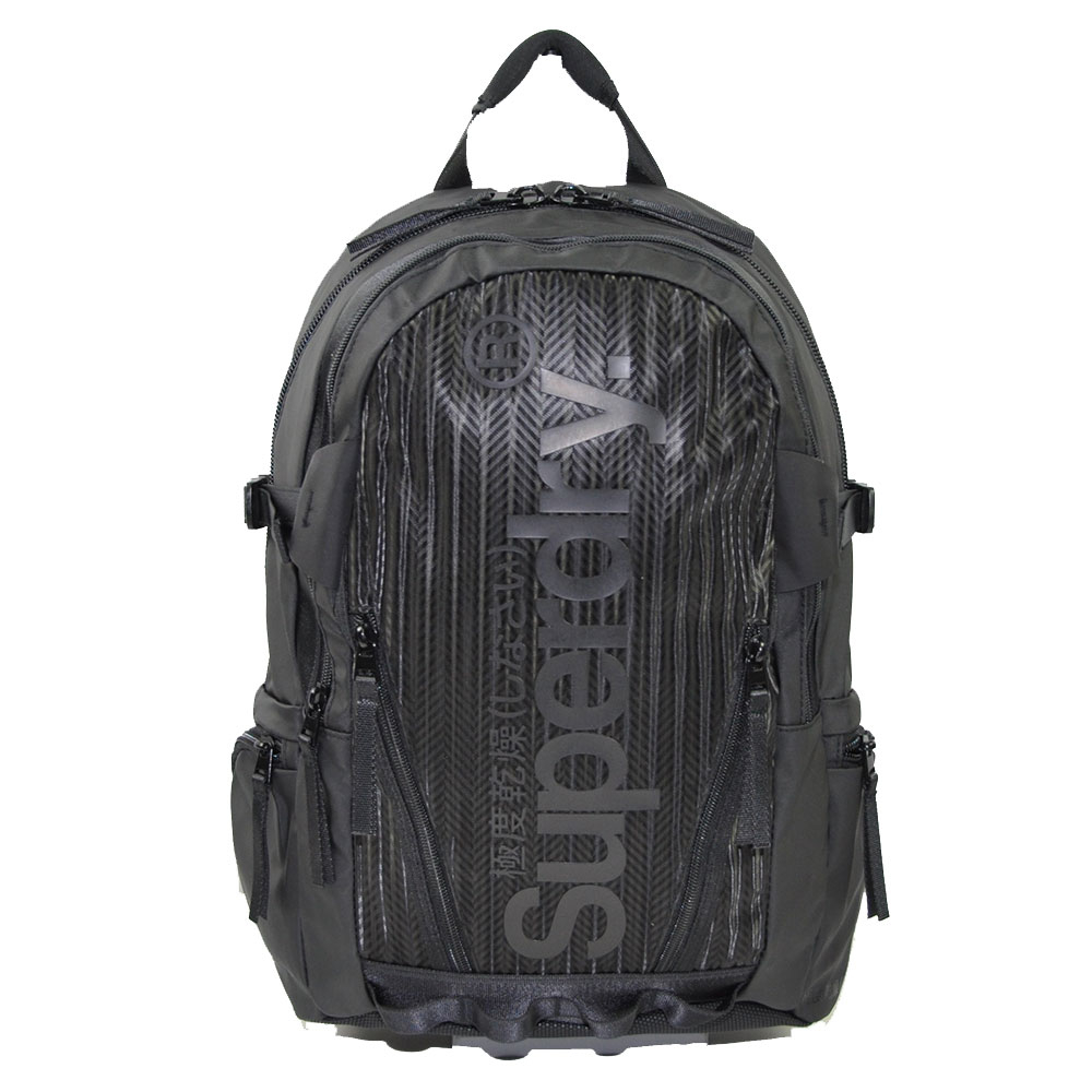 Superdry Tarp Backpack Thomas Black