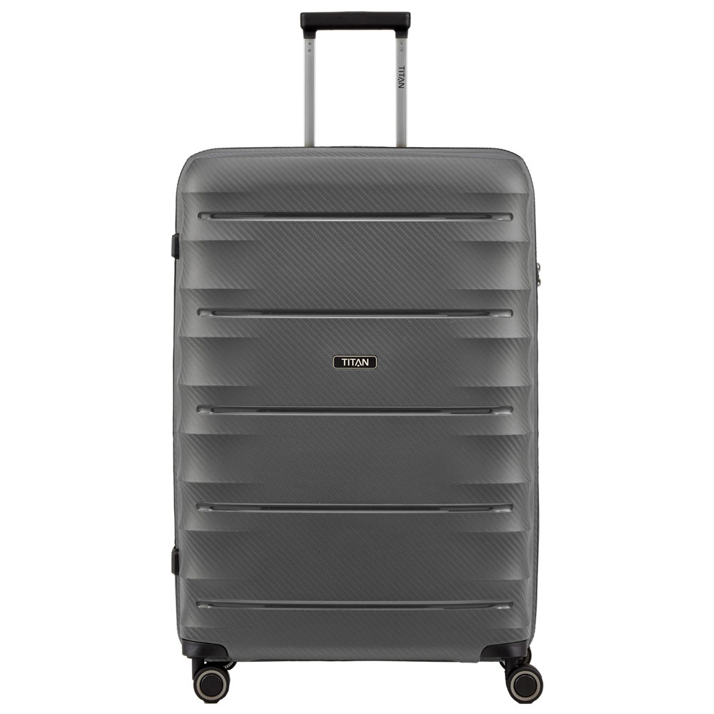 Titan Highlight 4 Wheel Trolley L Antracite