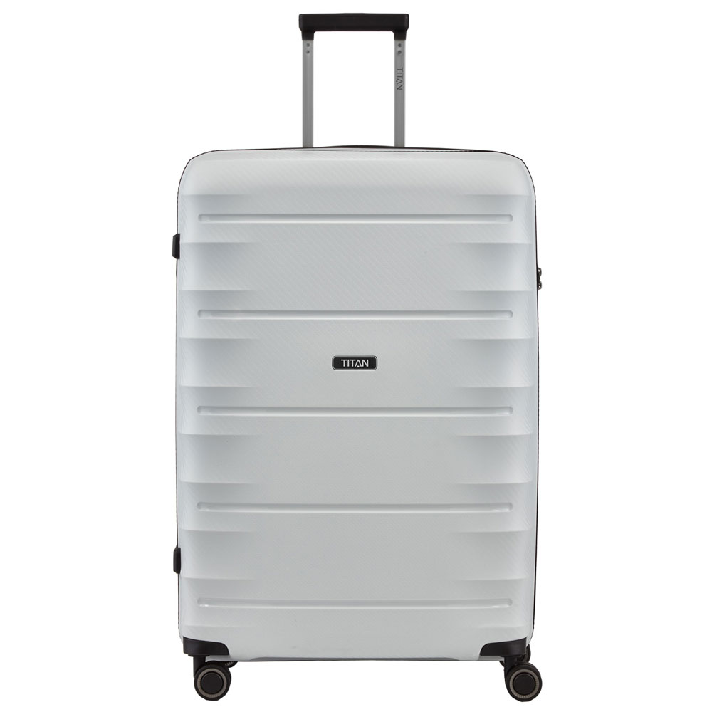 Titan Highlight 4 Wheel Trolley L Off White