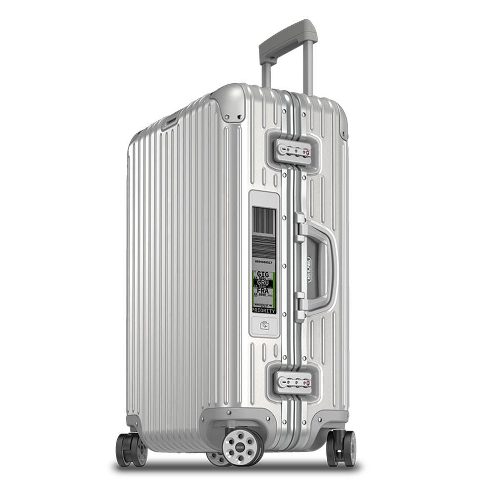 Rimowa Topas Trolley Multiwheel 68 Electronic Tag Aluminium