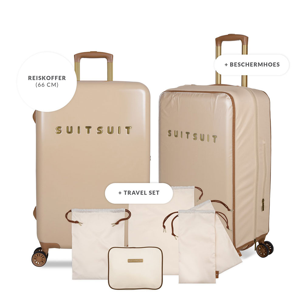 SuitSuit Fab Seventies Special - Spinner 66 Warm Sand + Travel Set