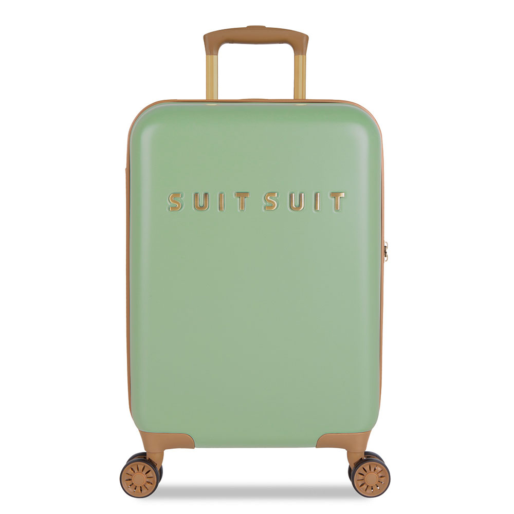 SuitSuit Fab Seventies Handbagage Spinner 55 Basil Green