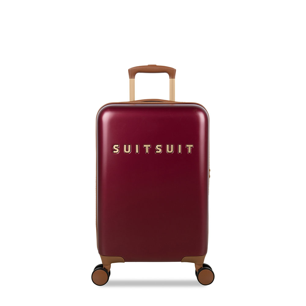 SuitSuit Fab Seventies Classic Handbagage Spinner 55 Biking Red