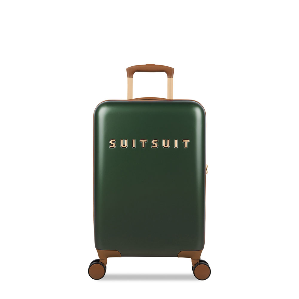 SuitSuit Fab Seventies Classic Handbagage Spinner 55 Beetle Green