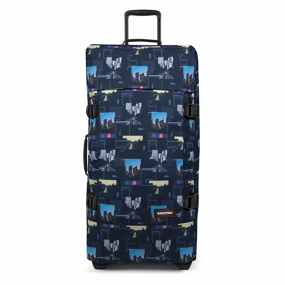 Eastpak Tranverz L Trolley Shapes Blue